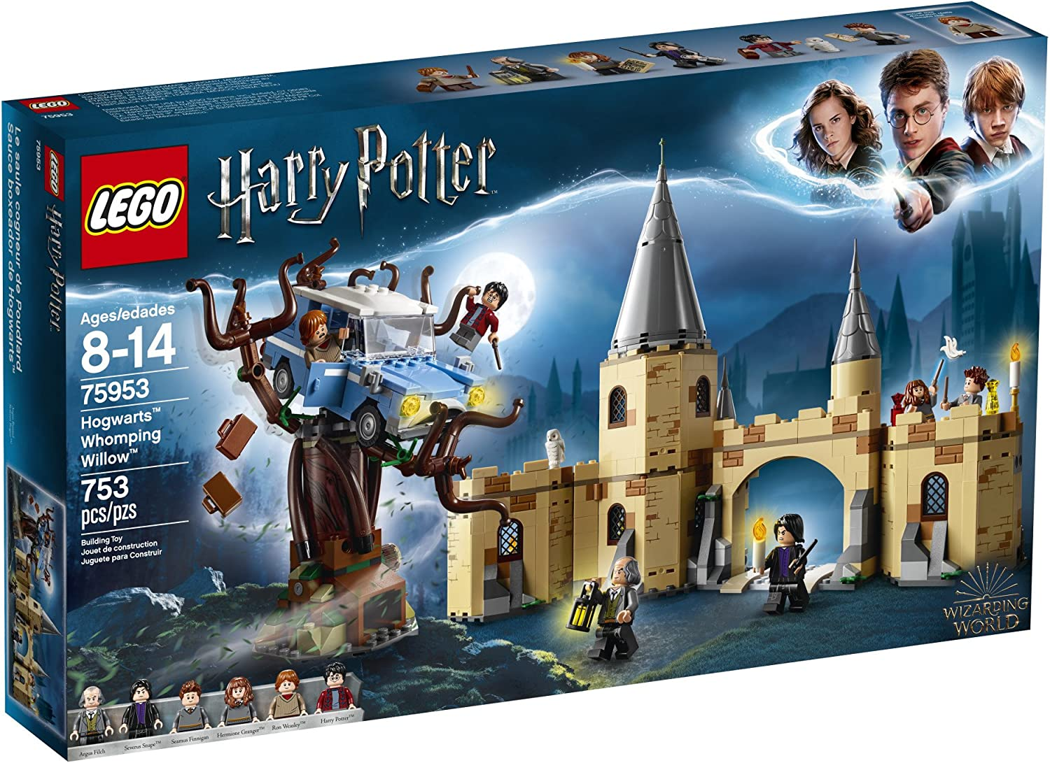 Lego Harry Potter And The Chamber Of Secrets Hogwarts Whomping Willow 75953 Magic Toys Building Kit Prisoner Of Azkaban Hedwig Hermoine Granger And Severus Snape 753 Pieces Toys Games Amazon Canada