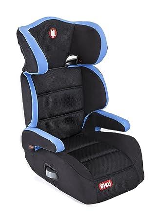 Piku Grey–Auto-Kindersitz 3–12Jahre Schwarz//Grau Gruppe 2//3 15–36Kg