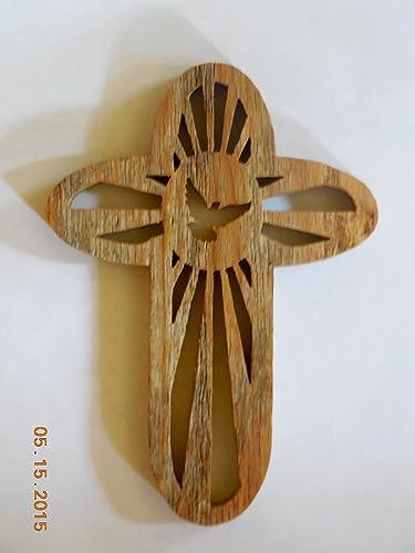 Rustic Barn Wood Wall Cross. Wall Crucifix,home Decor, Wall Decor. Came