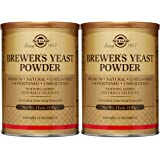 Solgar - Brewer's Yeast Powder 14 oz Supports Heart & Digestive Health - 2 Pack