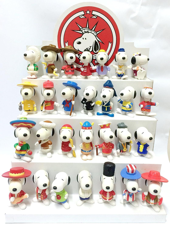 Amazon.com: Mcdonalds Toys Snoopy World Tour 1998, 3\