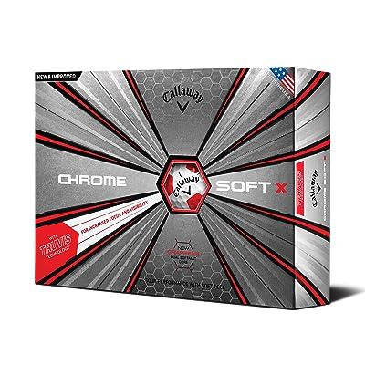 Callaway Golf 2018 Chrome Soft X Golf Balls (One Dozen)
