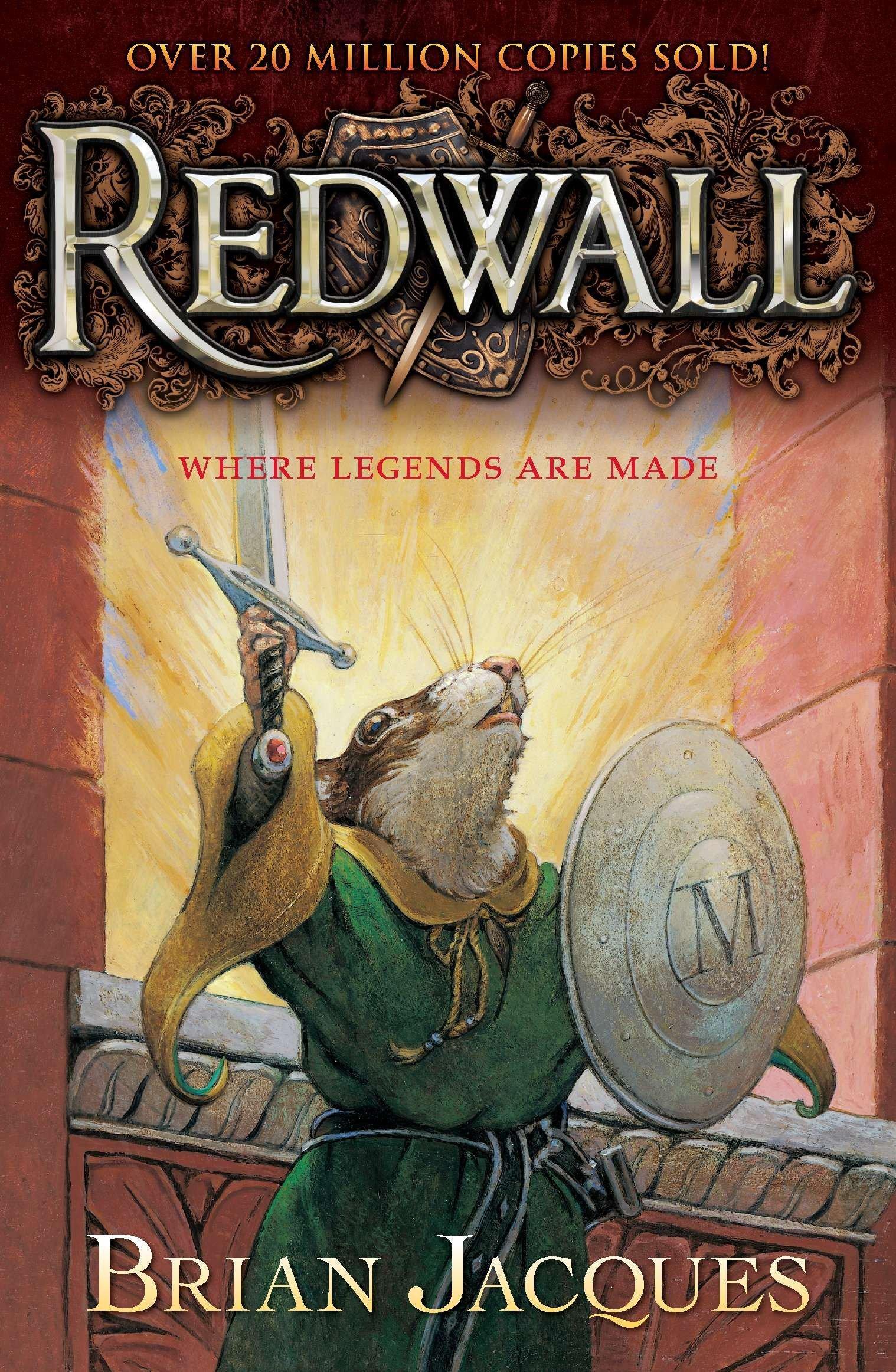Amazon.com: Redwall (9780142302378): Jacques, Brian, Chalk, Gary: Books