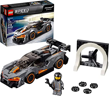 Amazon Com Lego Speed Champions Mclaren Senna 75892 Building Kit 219 Pieces Toys Games