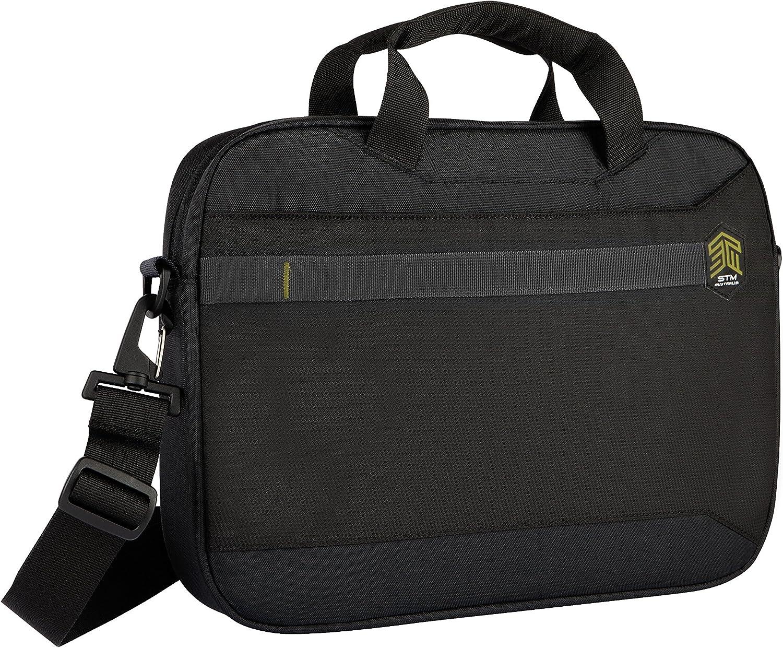 Black STM Chapter Messenger Bag for Laptops Up to 15-Inch stm-117-169P-01