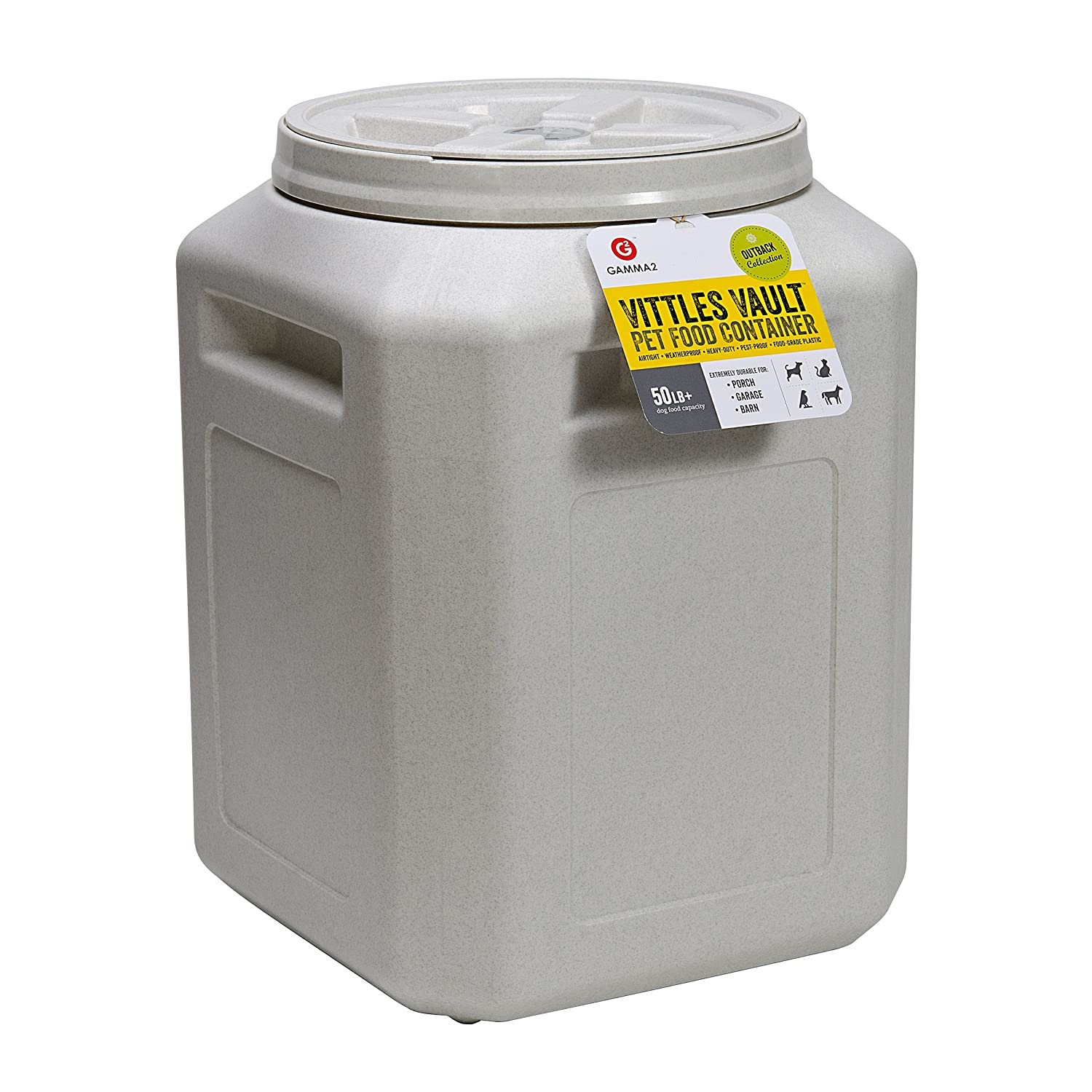 Amazon.com : Vittles Vault Outback 50 lb Airtight Pet Food Storage Container Products Supplies