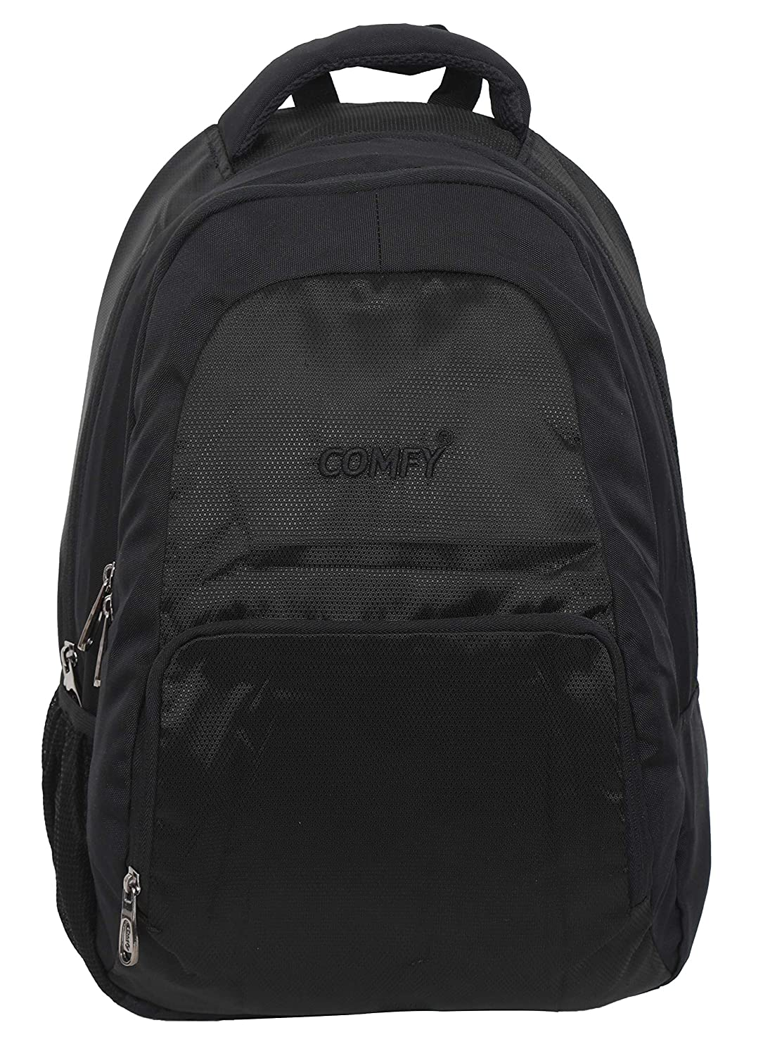 e3bd56c51f 19 Inch or 42 LTR Light Weight Multipurpose Backpack with Laptop  Compartment for Office   College (Black)  Amazon.in  Bags
