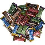 Ginger People Gin Gins Chewy Ginger Candy 4-Flavor Variety: One 2 lb Assorted Bag of Original, Peanut, Hot Coffee, and…