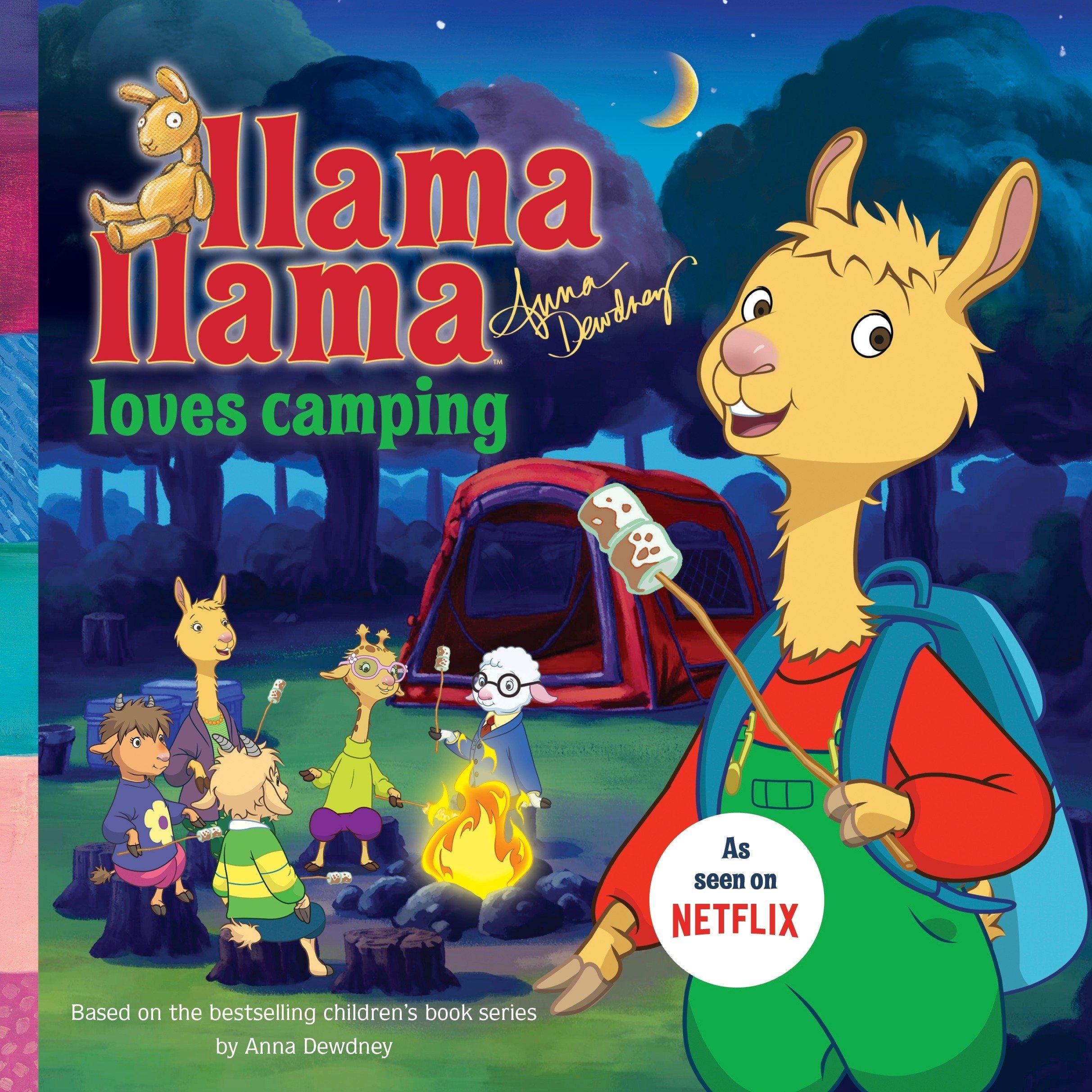 Llama Loves Camping Anna Dewdney product image