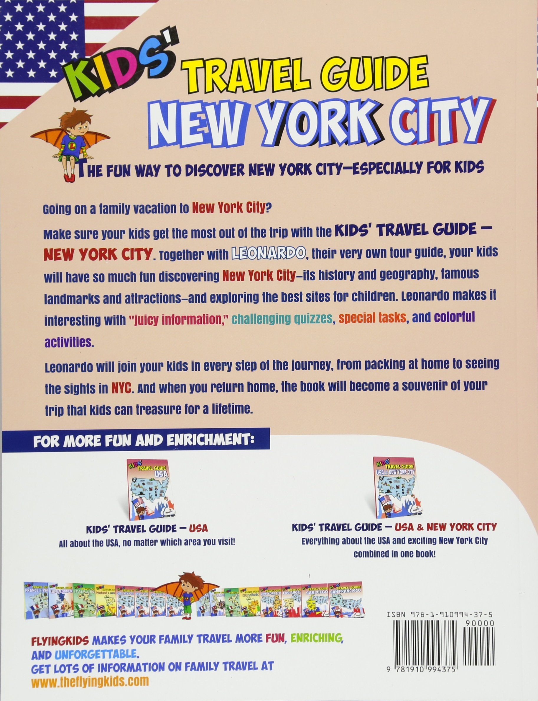 Kids Travel Guide New York City The Fun Way To Discover New York