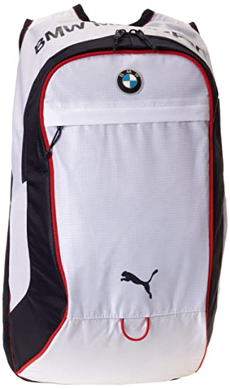 Puma Motorsport BMW White Backpack  Amazon.in  Bags, Wallets   Luggage 2abbdfe199