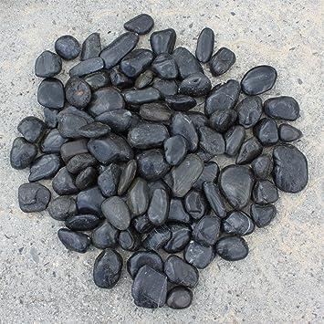 Steine vorgarten kies mit steinen dekoideen garten gre for Schwarze steine deko