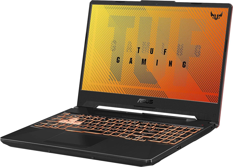 "ASUS TUF Gaming A15 Gaming Laptop, 15.6"" 144Hz FHD IPS-Type, AMD Ryzen 5 4600H, GeForce GTX 1650, 8GB DDR4, 512GB PCIe SSD, Gigabit Wi-Fi 5, Windows 10 Home, FA506IH-AS53: Computers & Accessories"