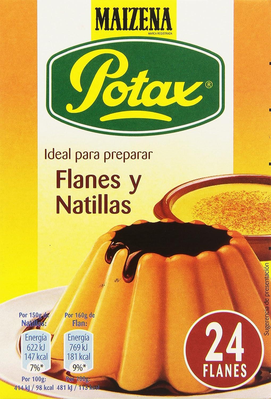 Maizena Potax - Preparado para Flanes y Natillas - 192 g: Amazon.es: Alimentación y bebidas