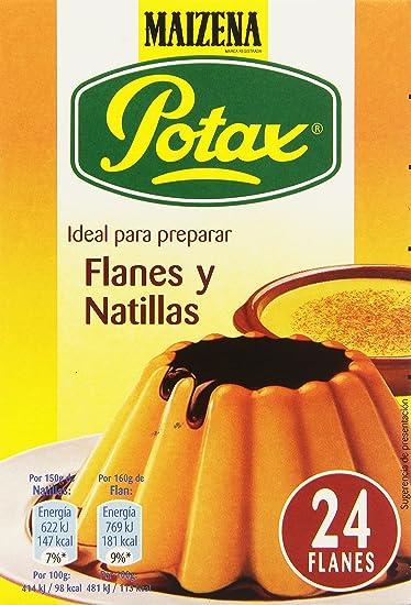 Maizena Potax - Preparado para Flanes y Natillas - 192 g