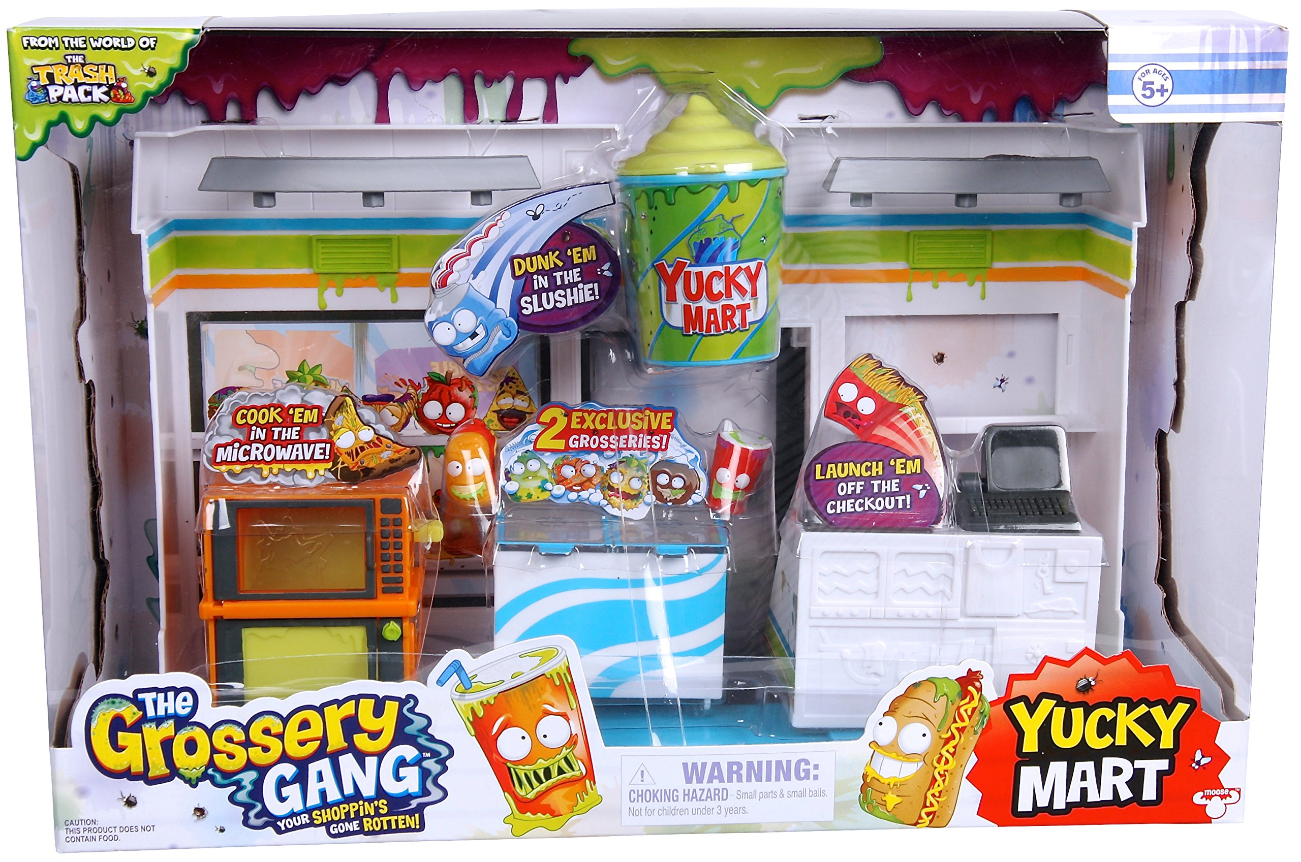 Grossery Gang The Yucky Mart Playset
