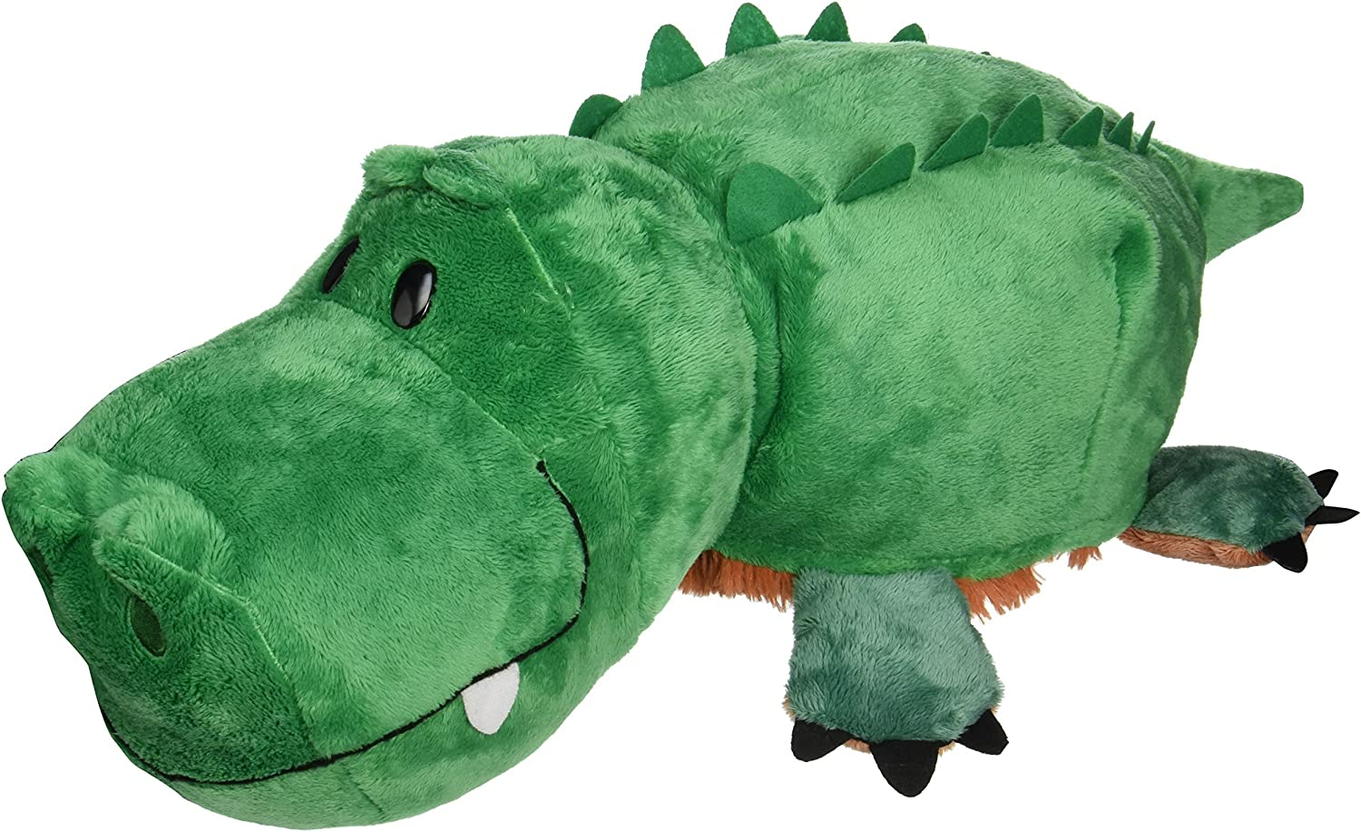 FlipaZoo The 16 Plush with 2 Sides of Fun for Everyone - Each Huggable FlipaZoo Character is Two Wonderful Collectibles in One (Grizzly Bear / Alligator)