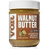 Vör All Natural Walnut Butter (11oz)   Only One Ingredient   No Sugar, No Salt   Vegan, Paleo, Keto, Whole 30