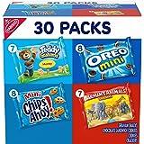 Nabisco Team Favorites Variety Pack, OREO Mini, CHIPS AHOY Mini, Teddy Grahams Honey & Barnum's Animal Crackers, 30 Snack Pac