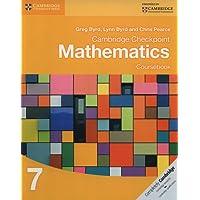 Cambridge checkpoint mathematics. Coursebook. Per le Scuole superiori. Con espansione online: 7