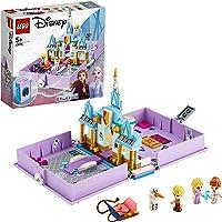 LEGO 43175 Disney Princess Cuentos e Historias: Anna y Elsa, Juguete de Construcción de Frozen II con 4 Mini Figuras