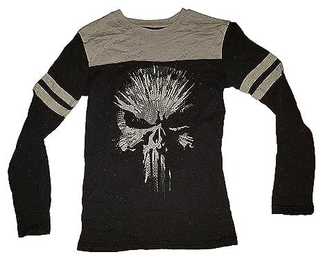 f8568b8a Amazon.com: Marvel Comics Punisher Long Sleeve Graphic T-Shirt: Clothing