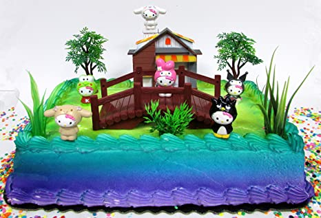 Image Unavailable Not Available For Color Hello Kitty Birthday Cake