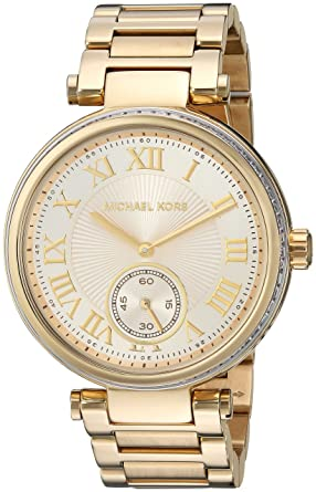 fae4be5375b Image Unavailable. Image not available for. Color  Michael Kors Watches  Skylar ...