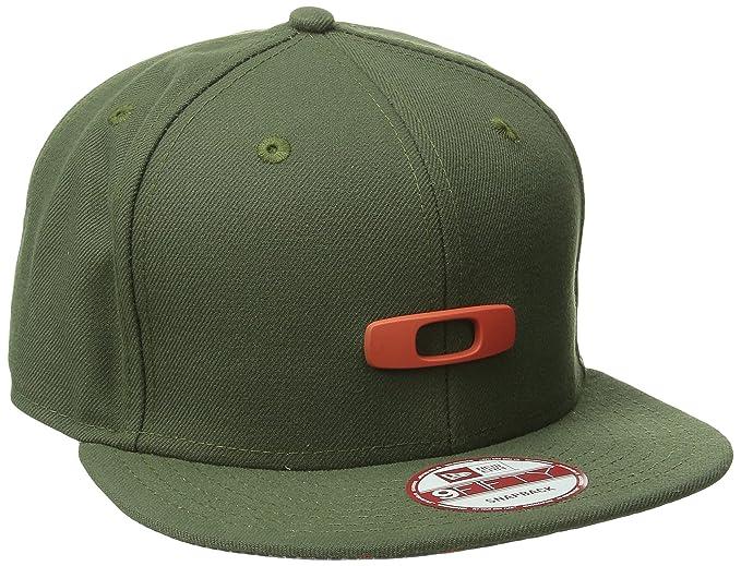 ca035c6c1f8 Oakley Mens Metal Gascan O-Justable  15 Adjustable Hat One Size Flare Orange