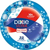 Dixie Ultra Disposable Paper Plates, 10 1/16 Inch, 22 Count (Pack of 4)