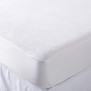 Jasmin Elinor - Protector de colchón Impermeable de Rizo de Calidad de Hotel, Extra Profundo, Falda de Tela Ajustable de 40 cm, Blanco, Moses Basket: ...
