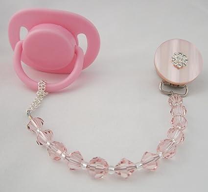 Cristal sueño elegante rosa Cristales de Swarovski con diseño de ...
