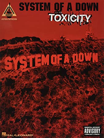 HAL LEONARD SYSTEM OF A DOWN - TOXICITY - GUITAR TAB Sheet music pop ...