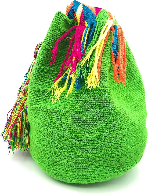 COLOMBIAN STYLE Sac à dos Wayuu, Handmade Sacs à main colombiens, à la fois pour les femmes et les hommes. Napoles