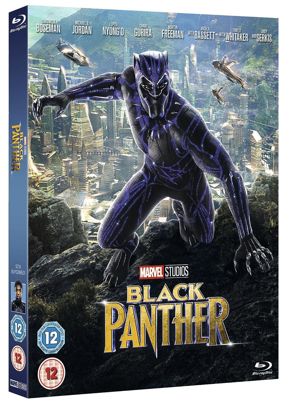 ผลการค้นหารูปภาพสำหรับ black panther blu ray