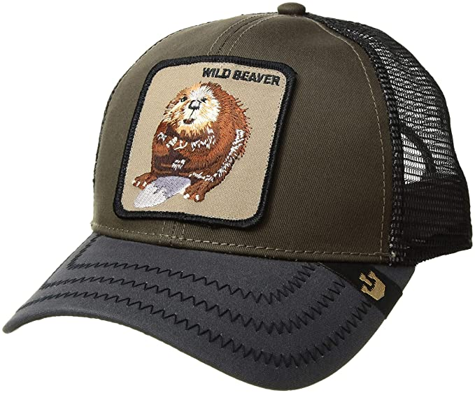 b15e71fe560c3 Goorin Bros. Men's Wild Beaver Baseball, Olive, One Size: Amazon.in:  Clothing & Accessories