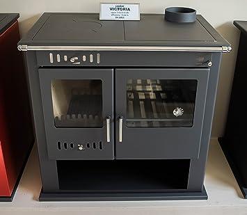 Estufa de leña chimenea de cocina horno cocina de combustible ...