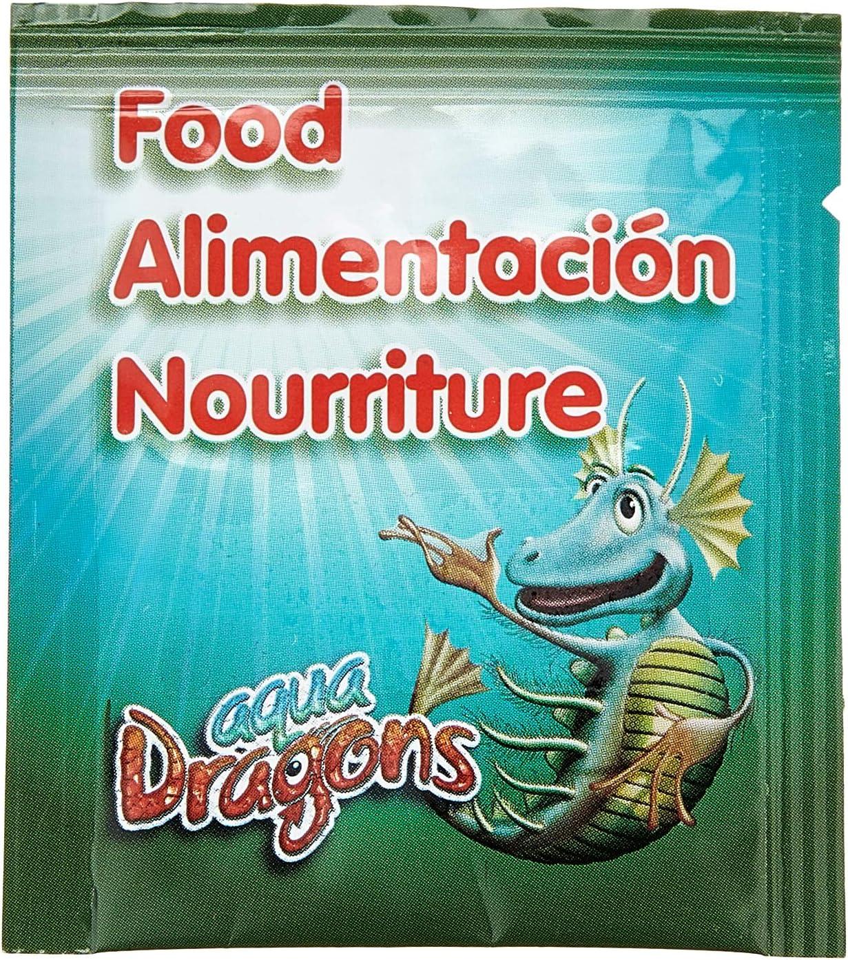 Aqua Dragons- Comida, Multicolor (World Alive SL 02ADFO)