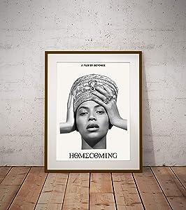 "Beyonce Homecoming Poster Dorm Wall Decor Unique Design Unframed Wall Art Size - 8,5'x11' 11'x17' 18'x24' 24'x32' (XL - 24""x36"" (61x91cm))"