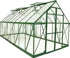 Palram Balance Hobby Greenhouse, 8' x 16', Green