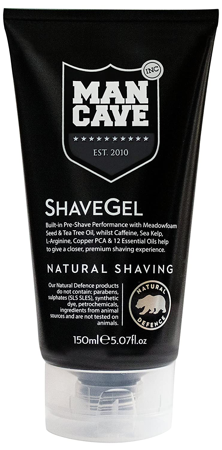 ManCave Shave Gel 150ml MC10015