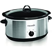 Crock-pot SCV800-S 8-Quart Oval Manual Slow Cooker (Stainless Steel)