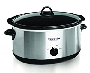 Crock-pot Oval Manual Slow Cooker SCV800-S