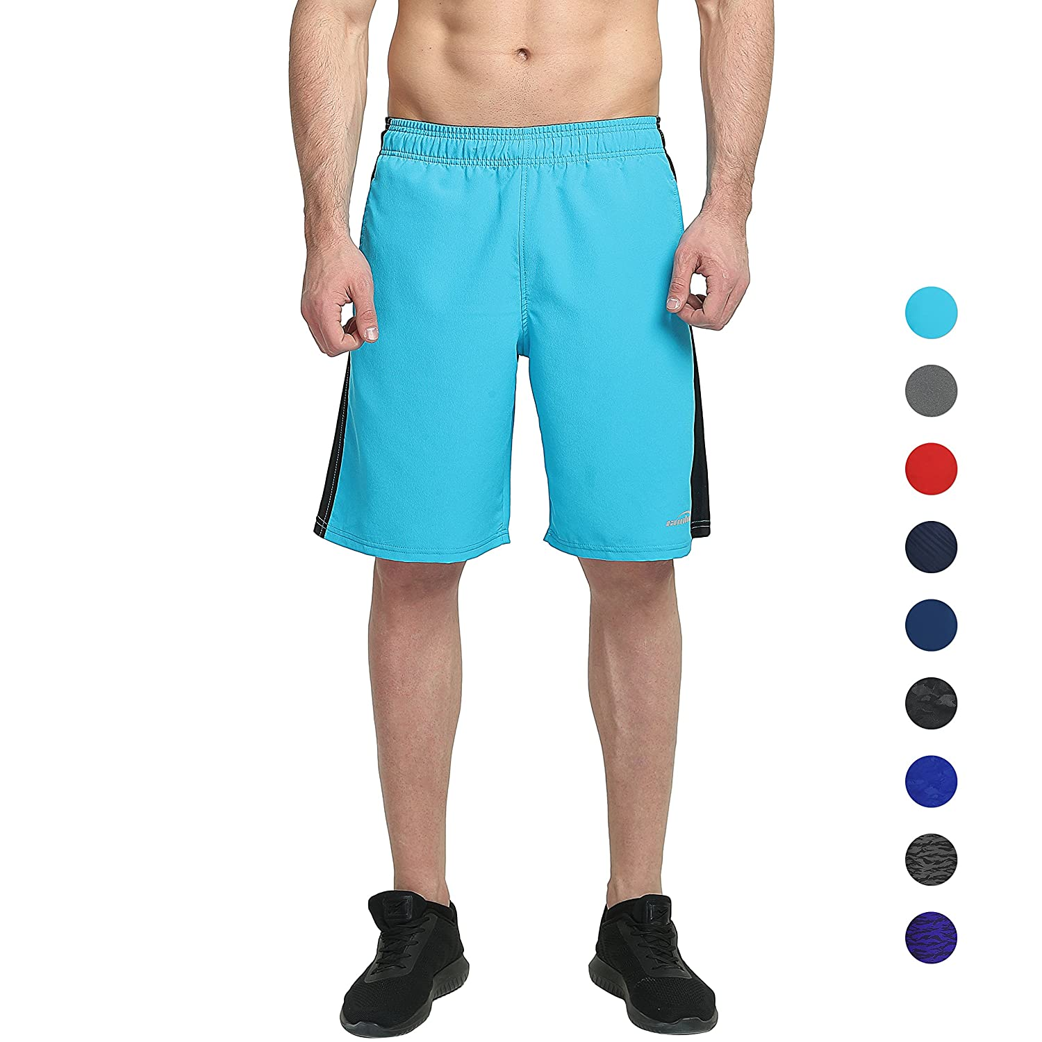 COOLOMG Men's Basketball Shorts with Pockets Quick Dry for Workout Running Training