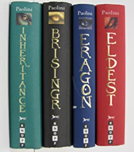 Christopher Paolini Inheritance Cycle 4 Book Set: Eragon, Eldest, Brisingr, Inheritance