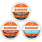 Dunkin' Best Sellers Coffee Variety Pack, Best Sellers Variety Pack, 60 Count