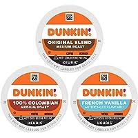 Dunkin' Best Sellers Coffee Variety Pack, 60 Keurig K-Cup Pods