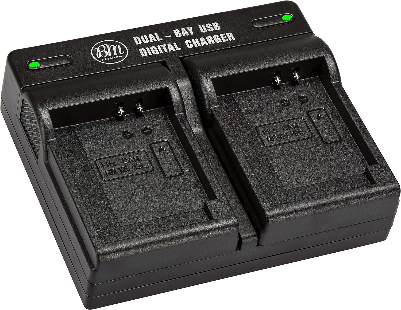 CELLONIC/® Cargador CB-2LUE compatible con NB-3L,NB-13LH Digital Digital IXUS 750, IXUS 700, Digital IXUS i, PowerShot SD550, SD500, SD10, IXY Digital L2 cargador autom/&oacut - incl cargador de coche fuente alimentaci/ón cargador corriente