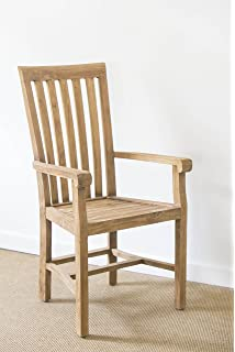 Reclaimed Teak Santos Carver Dining Chair