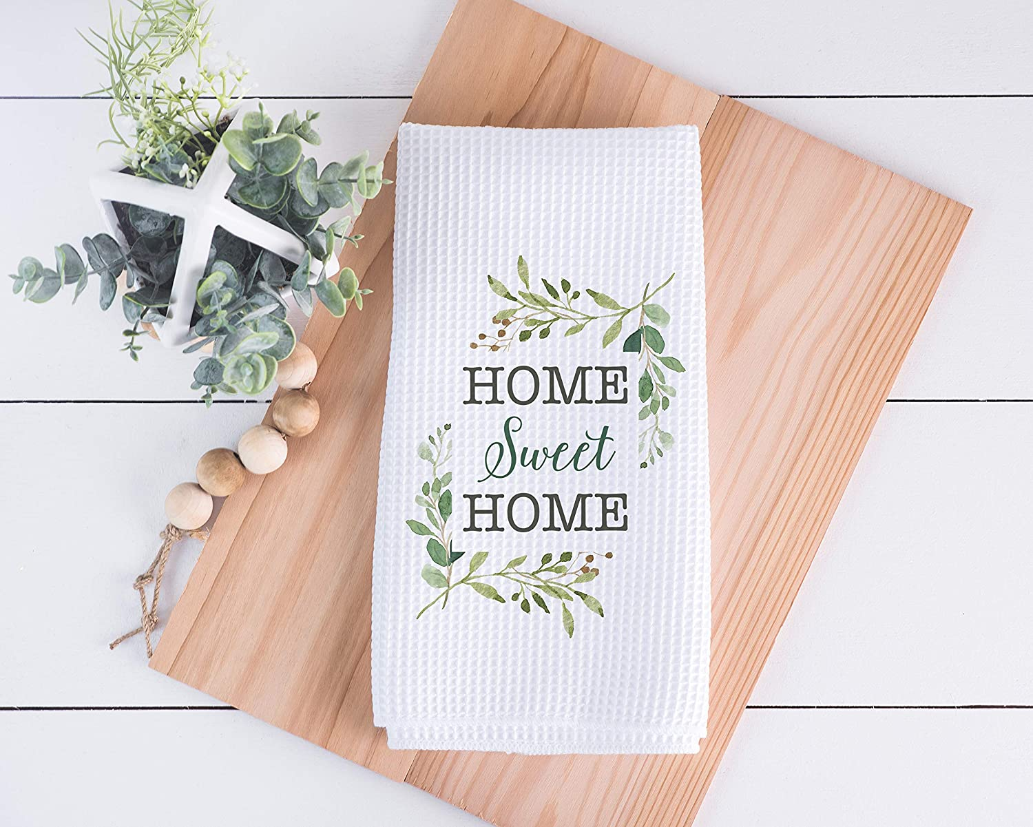 First Home Housewarming Gift New Home Wedding Gift Anniversary Gift Realtor Gift Personalized Gift Home Sweet Home Tea Towel Custom